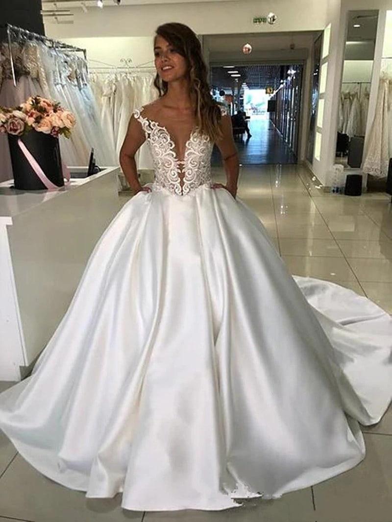 Robe De Princesse Mariage | Soirée Blanche