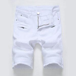 Short Blanc Jean Homme Short Blanc Homme Bas Blanc Soirée Blanche