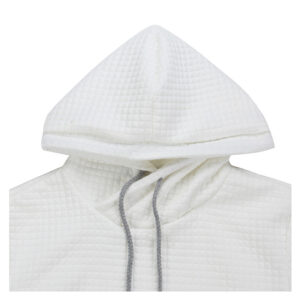 Sweat A Capuche Blanc Sweat Blanc Homme Haut Blanc Soirée Blanche