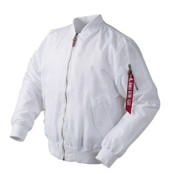 Veste Blanche Ma1 Bombardier Veste Blanche Femme Haut Blanc Veste Blanche Homme Haut Blanc Soirée Blanche
