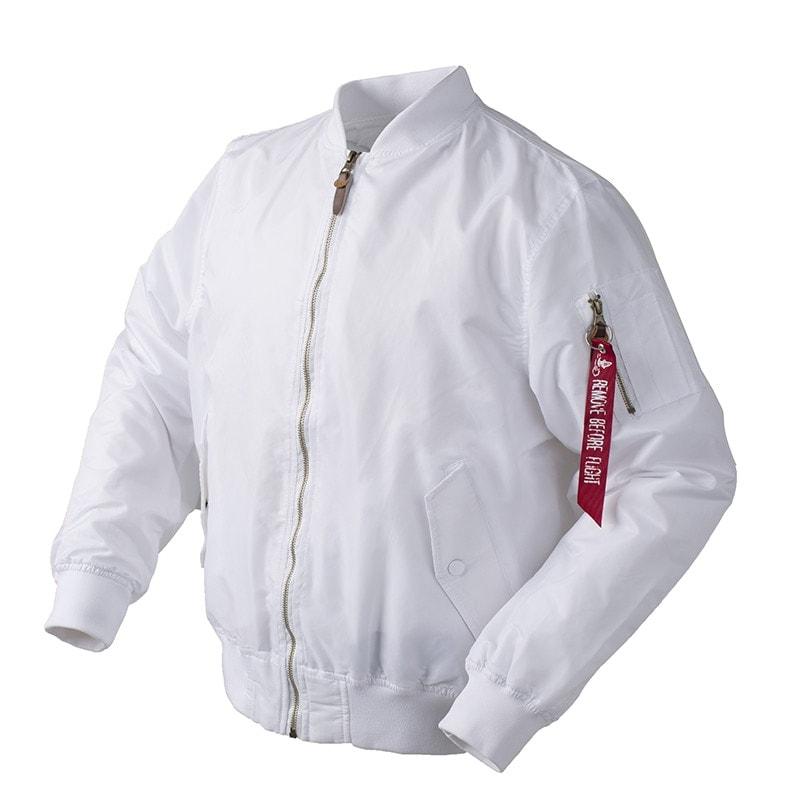 cherche veste blanche homme