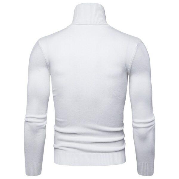 Pull Blanc Col Roulé Homme 2020 Homme Haut Blanc Pull Blanc Soirée Blanche