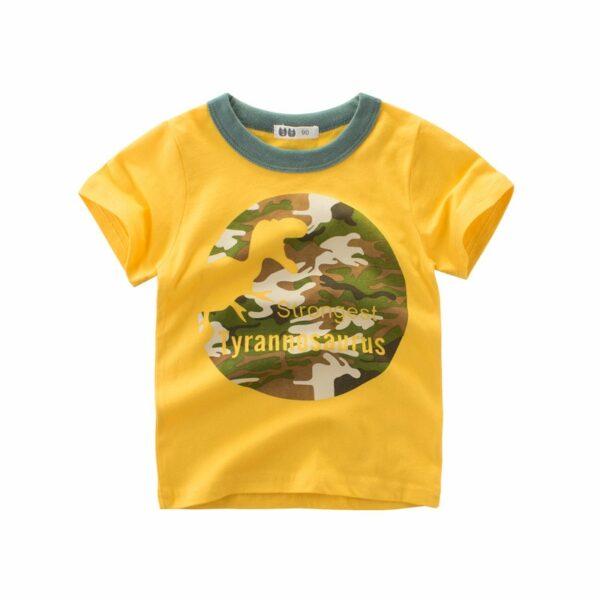 Tee Shirt Blanc Motif Engin Garçon 31 | Soirée Blanche