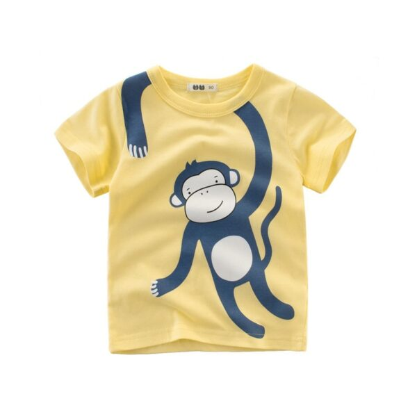Tee Shirt Blanc Motif Engin Garçon 24 | Soirée Blanche