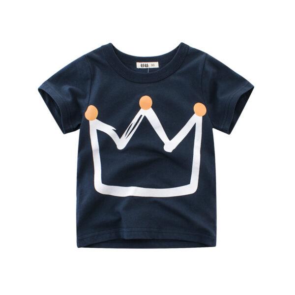 Tee Shirt Blanc Motif Engin Garçon 17 | Soirée Blanche