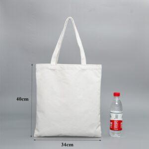 Sac En Tissu Blanc 16 | Soirée Blanche