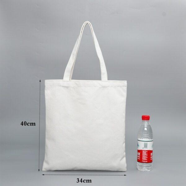 Sac En Tissu Blanc 9 | Soirée Blanche