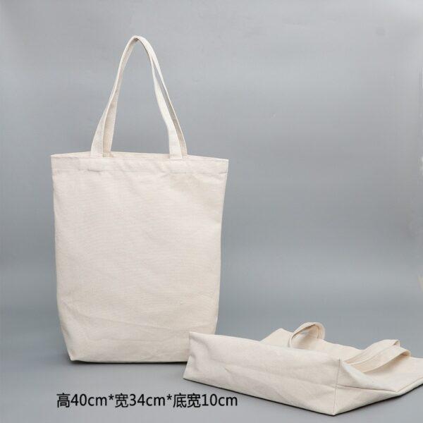Sac En Tissu Blanc 6 | Soirée Blanche