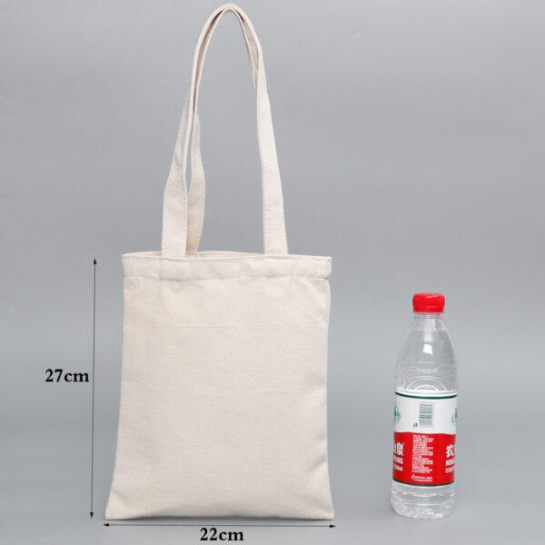 Sac En Tissu Blanc 5 | Soirée Blanche