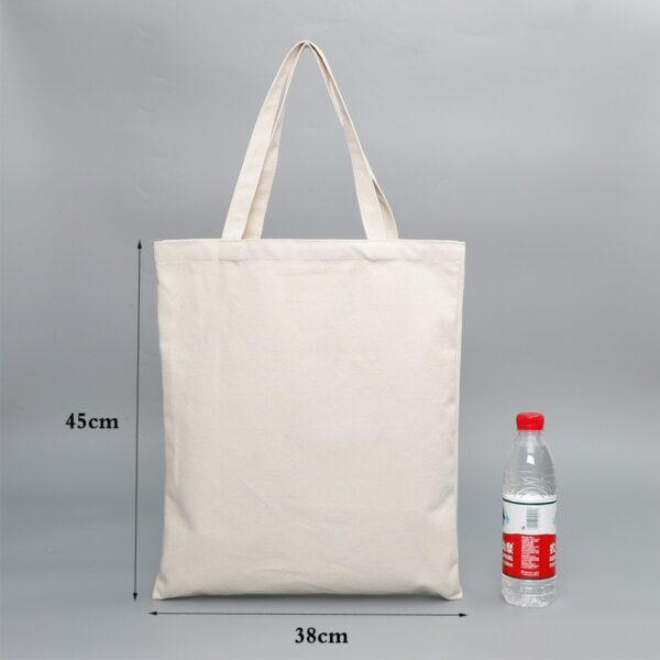 Sac En Tissu Blanc 4 | Soirée Blanche