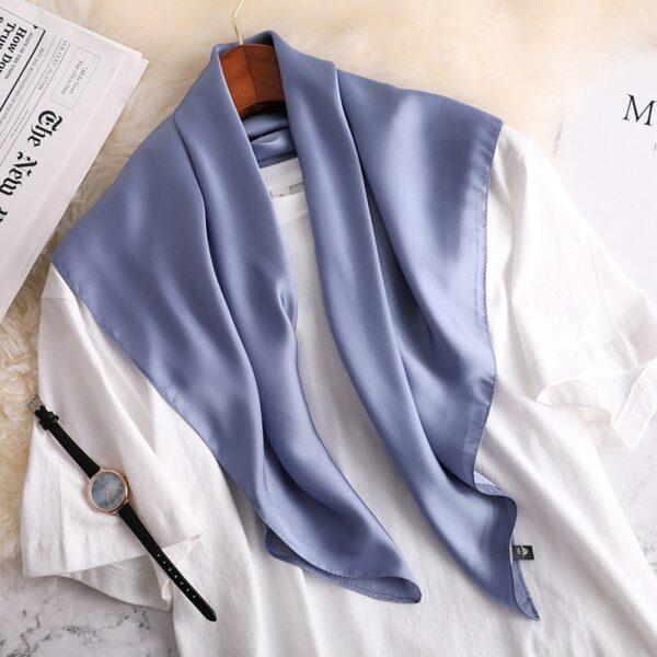 Foulard Blanc Femme 22 | Soirée Blanche