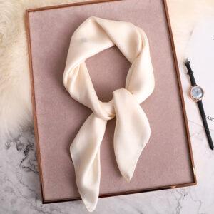 Foulard Blanc Femme
