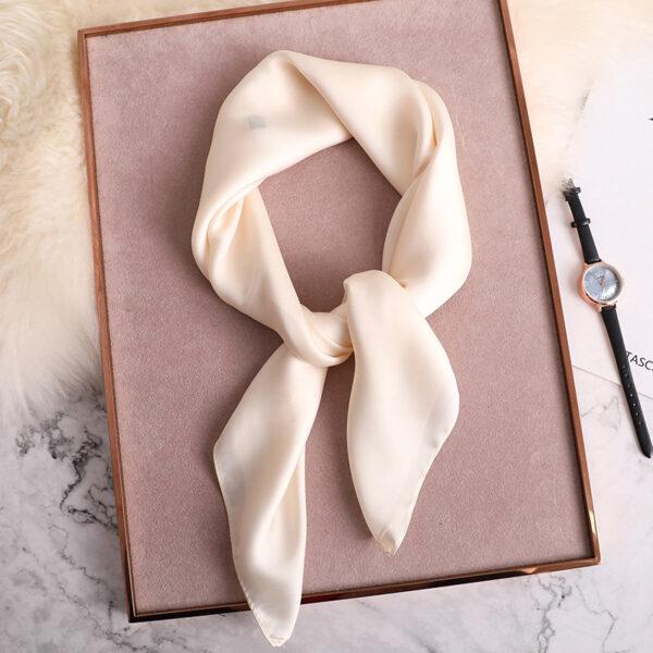 Foulard Blanc Femme 3 | Soirée Blanche