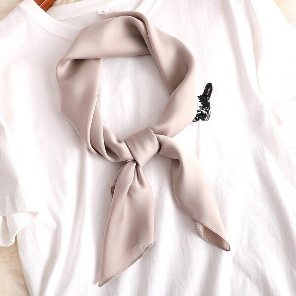Foulard Blanc Femme 19 | Soirée Blanche
