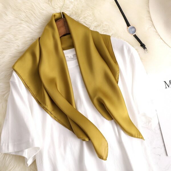 Foulard Blanc Femme 14 | Soirée Blanche