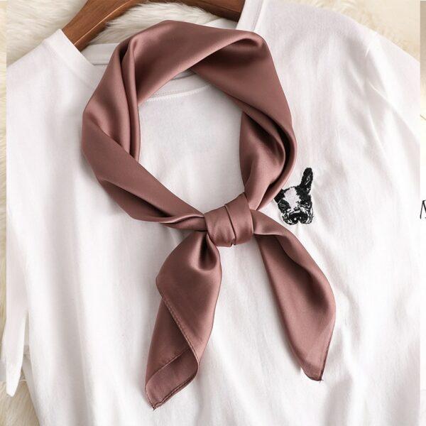 Foulard Blanc Femme 12 | Soirée Blanche