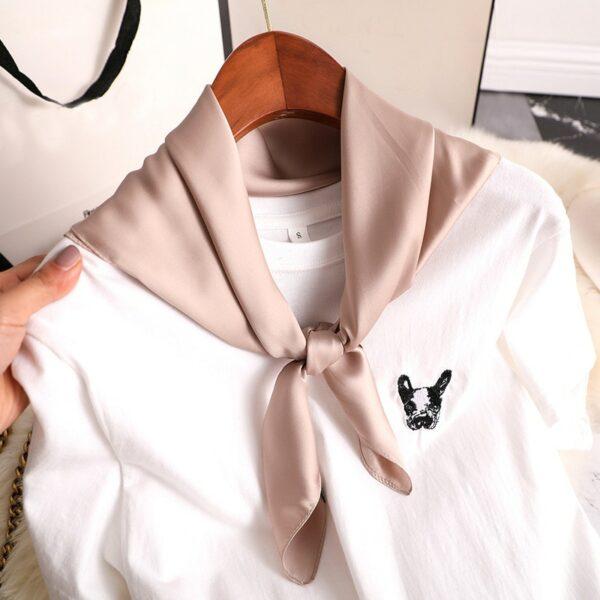 Foulard Blanc Femme 23 | Soirée Blanche