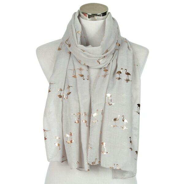 Foulard Blanc Flamand Rose 7 | Soirée Blanche