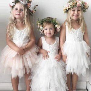 Enfant - Robe blanche | Soirée Blanche