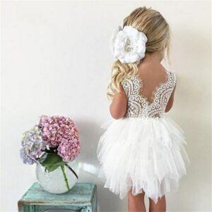 Robe Blanche Pour Fille 29 | Soirée Blanche