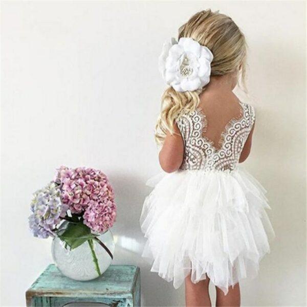 Robe Blanche Pour Fille 4 | Soirée Blanche