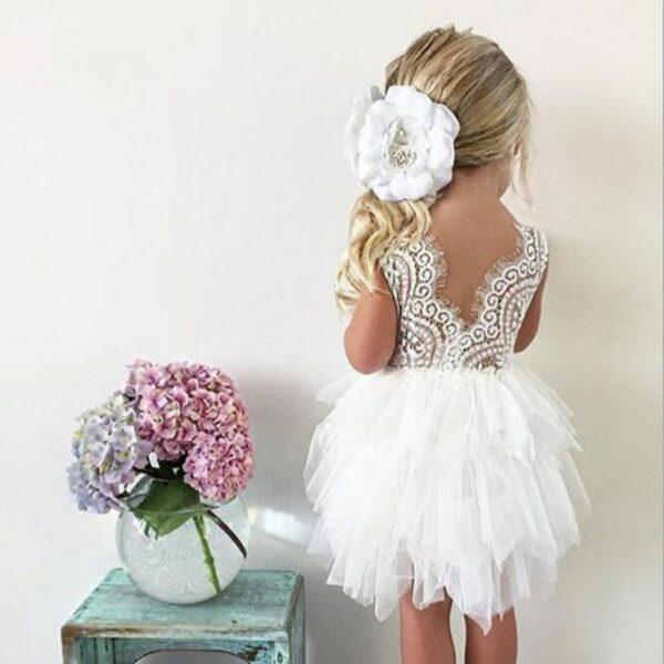 Robe Blanche Pour Fille 22 | Soirée Blanche