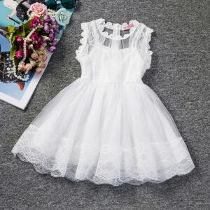 Robe Blanche Pour Fille 41 | Soirée Blanche