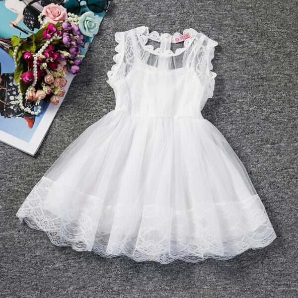 Robe Blanche Pour Fille 16 | Soirée Blanche