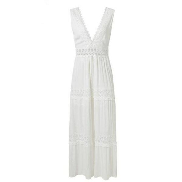 Robe Longue Été Blanche 5 | Soirée Blanche