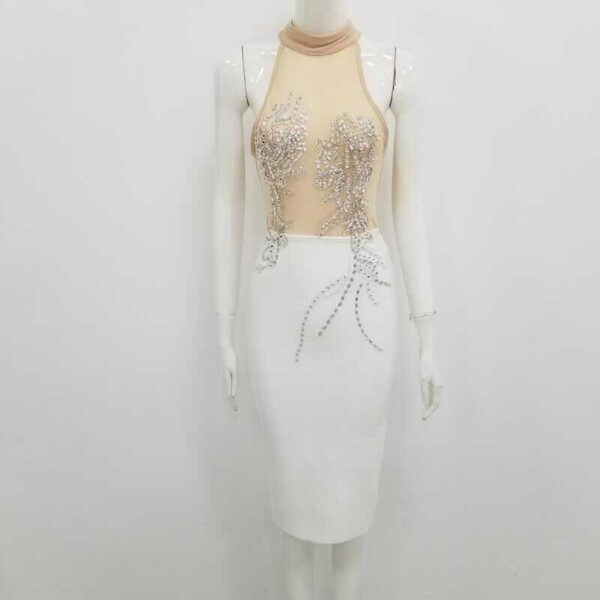 Robe De Soirée Blanche Sexy 4 | Soirée Blanche