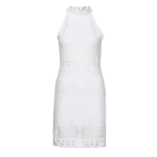 Robe Blanche Bohème Courte Été 2020 6 | Soirée Blanche