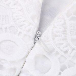 Robe Blanche Bohème Courte Été 2020 13 | Soirée Blanche