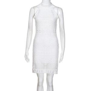 Robe Blanche Bohème Courte Été 2020 12 | Soirée Blanche