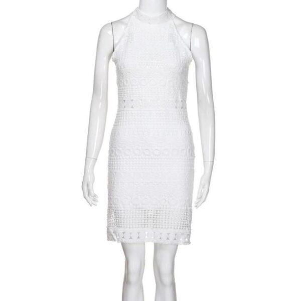 Robe Blanche Bohème Courte Été 2020 7 | Soirée Blanche