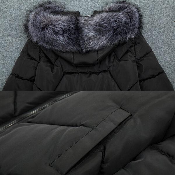 Manteau Blanc Femme Hiver 9   Soirée Blanche