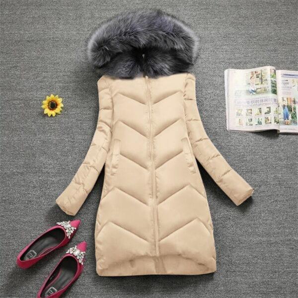 Manteau Blanc Femme Hiver 7   Soirée Blanche