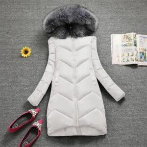 Manteau Blanc Femme Hiver 12   Soirée Blanche