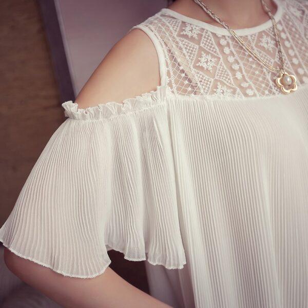 Robe Blanche Courte Femme Enceinte 4 | Soirée Blanche