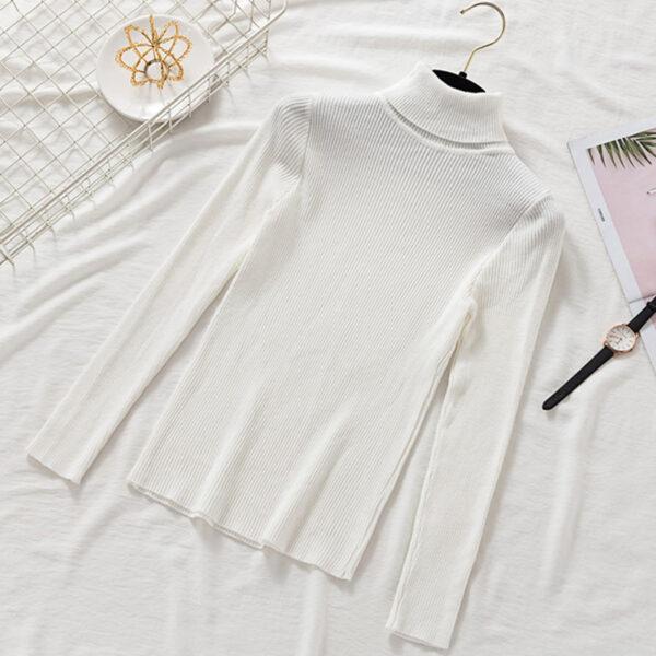 Sous Pull Blanc Femme 1 | Soirée Blanche