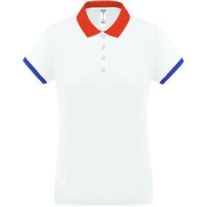 Polo Bleu Blanc Rouge | Vêtement France | Soirée Blanche