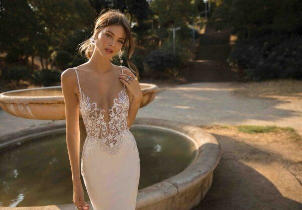 Robe Sirène Mariage 2 | Soirée Blanche