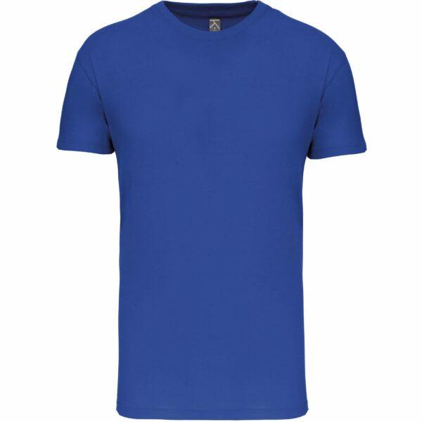 Tee Shirt Blanc Homme - bleu