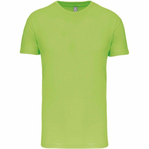 Tee Shirt Blanc Homme - vert