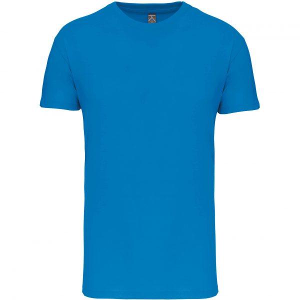 Tee shirt col rond enfant - bleu