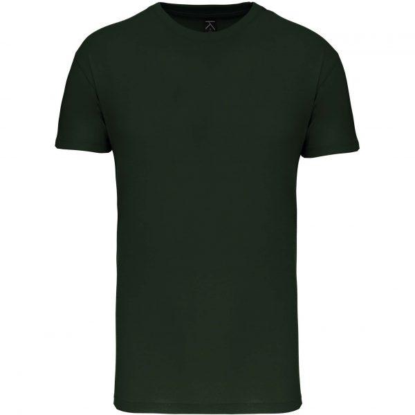 Tee shirt col rond enfant - vert foncé