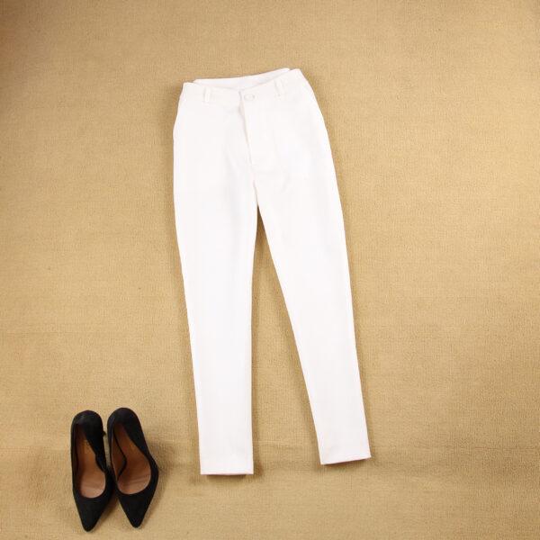 Tailleur Femme Blanc 8 | Soirée Blanche