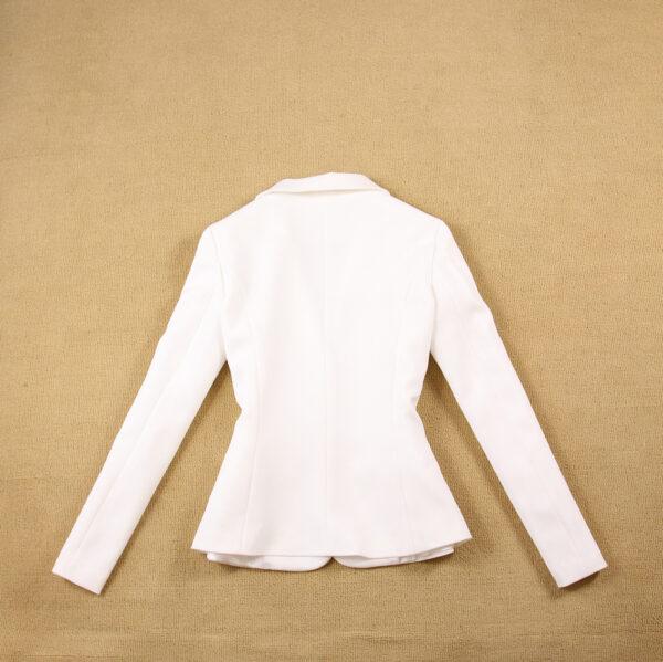 Tailleur Femme Blanc 7 | Soirée Blanche