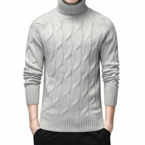 Pull Blanc Vintage Homme 8 | Soirée Blanche