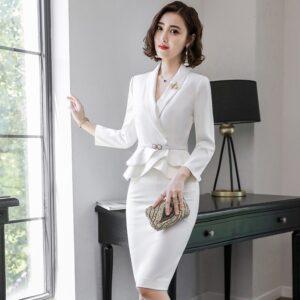 Tailleur Blanc Mariage | Soirée Blanche