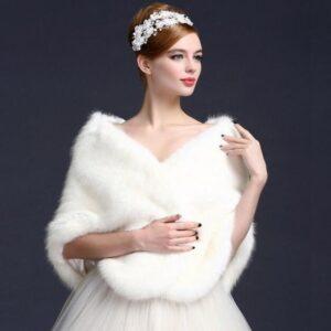 Châle Blanc Long